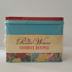 Pioneer Woman Recipe Tin